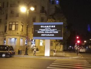 Уличный светодиодный экран, г. Баку